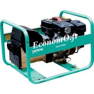 Groupe Électrogène EXPERT 4010 X + DIFF Essence Monophasé 4,1 kVA 3,3 kW - EconomO.fr