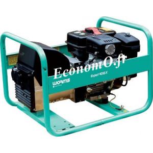 Groupe Électrogène EXPERT 4010 X + DIFF et AVR Essence Monophasé 4,1 kVA 3,3 kW - EconomO.fr
