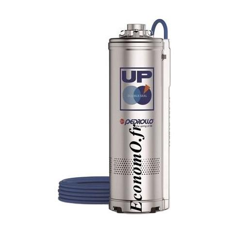 Pompe Immergée Pedrollo pour Puits UPm 2/3 de 1,2 à 4,8 m3/h entre 44,5 et 23 m HMT Mono 220 240 V 0,55 kW