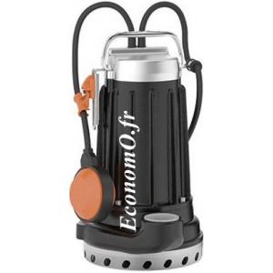 Pompe de Drainage Pedrollo DCm 18-N de 3 à 13,2 m3/h entre 15 et 5 m HMT Mono 220 240 V 0,55 kW