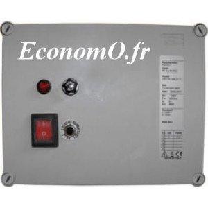 Coffret Manque d'Eau Pedrollo QMDE Mono 230 V 0,37 kW avec 3 Sondes