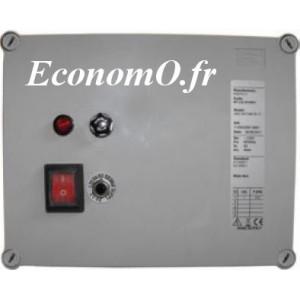 Coffret Manque d'Eau Pedrollo QMDE Mono 230 V 0,75 kW avec 3 Sondes