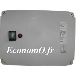 Coffret Manque d'Eau Pedrollo QTDE Tri 400 V 0,75 kW avec 3 Sondes