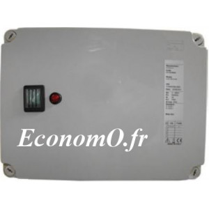 Coffret Manque d'Eau Pedrollo QTDE Tri 400 V 7,5 kW avec 3 Sondes