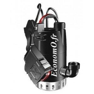 Pompe de Relevage Grundfos UNILIFT CC5 - A1* de 2 à 5,4 m3/h entre 3 et 0,5 m HMT Mono 220 240 V 0,24 kW avec Flotteur sur Bras