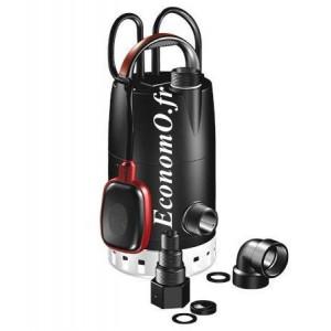 Pompe de Relevage Grundfos UNILIFT CC9 - A1 de 2 à 14,7 m3/h entre 8,8 et 0,5 m HMT Mono 220 240 V 0,78 kW avec Flotteur - Econo