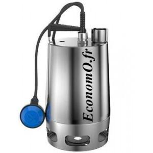 Pompe de Relevage Grundfos UNILIFT AP35.40.06.A3.V de 2 à 18,7 m3/h entre 8,8 et 1 m HMT Tri 380 400 V 0,9 kW avec Flotteur - Ec