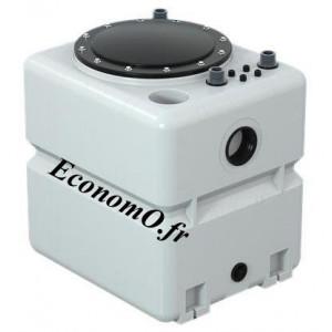 Cuve Seule 270 Litres Grundfos UNOLIFT.270.50.AP35/50B pour 2 Pompes Unilift AP35/50B - EconomO.fr