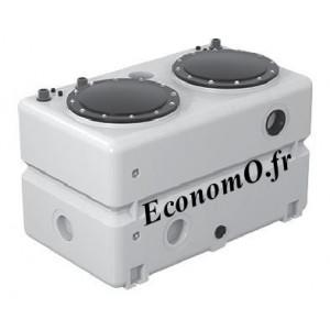 Cuve Seule 540 Litres Grundfos DUOLIFT.540.40.SEG pour 2 Pompes SEG - EconomO.fr