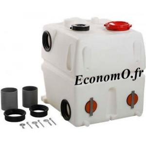 Réservoir PE Supplémentaire 450 Litres Grundfos avec Raccords, Couvercles, Joints et Boulons d'Ancrage - EconomO.fr