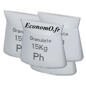Recharges Neutralisant Grundfos 4 x 1,5 kg avec Testeur pH - EconomO.fr