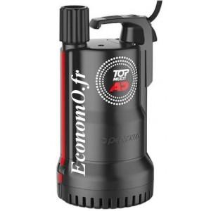 Pompe AdBlue Pedrollo TOP MULTI 1-AD de 0,6 à 4,2 m3/h entre 25 et 5 m HMT Mono 230 V 0,37 kW