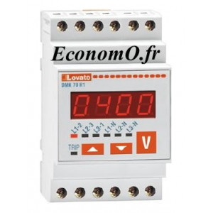 Voltmètre Numérique DMK70 pour Groupe Électrogène Pedrollo G-THOR - EconomO.fr