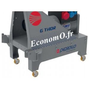 Kit Mobilité Roulettes pour Groupe Électrogène Pedrollo G-THOR - EconomO.fr