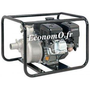 Motopompe Airmec MSA 50 Essence de 3,6 à 30 m3/h entre 28 et 10 m HMT 5,5 cv - EconomO.fr