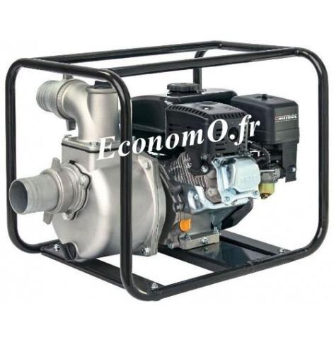 Motopompe Airmec MSA 80 Essence de 3,6 à 30 m3/h entre 28 et 22 m HMT 6,5 cv - EconomO.fr