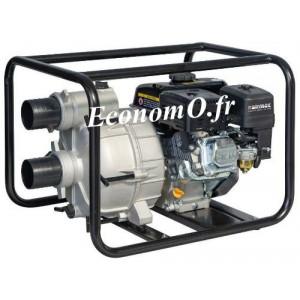 Motopompe Airmec MSA 80 TRASH Essence de 3,6 à 30 m3/h entre 28 et 20 m HMT 6,5 cv - EconomO.fr