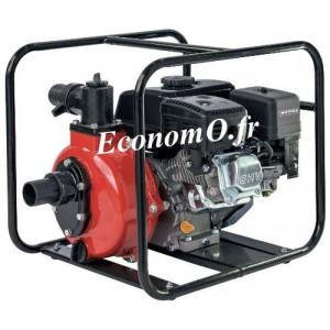Motopompe Airmec MSHP 50 Essence de 3,6 à 9,6 m3/h entre 75 et 62 m HMT 6,5 cv - EconomO.fr
