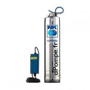 Pompe Immergée Pedrollo pour Puits NKm 4/4 avec Coffret de 1,2 à 7,2 m3/h entre 72 et 32 m HMT Mono 220/240 V 1,5 kW - EconomO.f