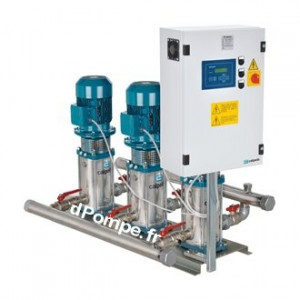 Surpresseur Calpeda 3 Pompes à Vitesse Variable S30 VV MXV80-4805 de 21 à 180 m3/h entre 90 et 44 m HMT Tri 400 V 3 x 15 kW - Ec