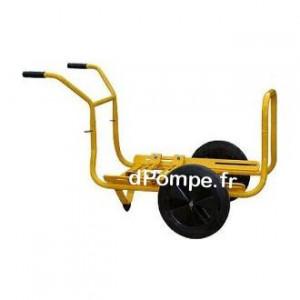 Motopompe Robin Subaru P 52 D Thermoplastique Diesel de 6 à 42 m3/h entre 38 et 3 m HMT avec Brouette et Kit Joint Viton - Econo