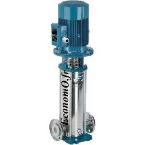 Pompe Multicellulaire Verticale Inox 304 MXV 25-210 Calpeda 1,5 kW Tri 230-400 V de 1 à 4,5 m3/h entre 106 et 42 m HMT - EconomO