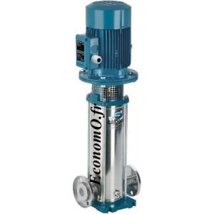 Pompe Multicellulaire Verticale Inox 304 MXV 25-207 Calpeda 1,1 kW Tri 230-400 V de 1 à 4,5 m3/h entre 74 et 30 m HMT - EconomO.