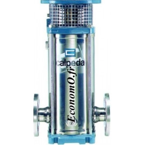 Hydraulique Calpeda MXV 25-216 Inox 304 Multicellulaire Verticale 3 kW de 1 à 4,5 m3/h entre 170 et 68 m HMT - EconomO.fr