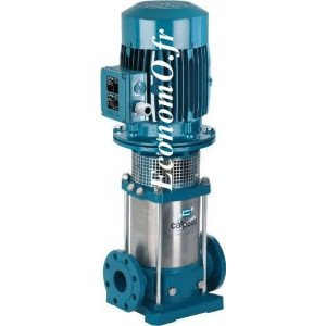 Pompe de Surface Multicellulaire Verticale Inox 304 MXV 65-3204/C Calpeda 7,5 kW 400-690 V de 15 a 44 m3/h entre 69 et 35 m HMT