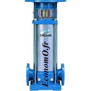 Hydraulique de Pompe de Surface Multicellulaire Verticale Inox 304 MXV 50-1607/C Calpeda 7,5 kW 400-690 V de 8 a 24 m3/h entre 1
