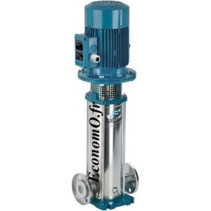 Pompe Multicellulaire Verticale Inox 316L MXVL 32-418 Calpeda 4 kW Tri 400-690 V de 2,5 à 8 m3/h entre 187 et 68 m HMT - EconomO