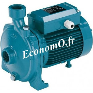 Pompe de Surface Centrifuge Calpeda NM 17/GE Monobloc 21 a 60 m3/h entre 12 et 4 m HMT TRI 230-400 V 1,5 kW - EconomO.fr