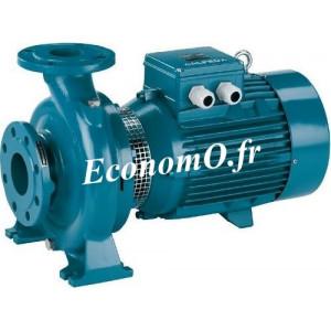 Pompe de Surface Centrifuge Calpeda NM 40-20C à Brides 15 à 27 m3/h entre 41,5 et 33,5 m HMT Tri 400-690 V 4 kW - EconomO.fr