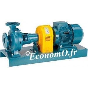Pompe de Surface Calpeda N4 50-125A V2 à Brides 10,8 à 37,8 m3/h entre 6,2 et 2,9 m HMT Tri 230-400 V 0,75 kW - EconomO.fr