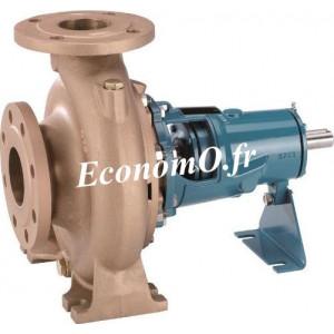 Pompe Arbre Nu Bronze Calpeda B-N4 65/315C a Brides 21 a 84 m3/h entre 25,8 et 11 m HMT TRI 400-690 V 5,5 kW - EconomO.fr