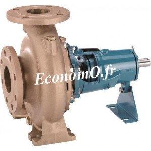 Pompe Arbre Nu Bronze Calpeda B-N4 65/200B/A a Brides 21 a 84 m3/h entre 11,9 et 4,3 m HMT TRI 400-690 V 18,5 kW - EconomO.fr