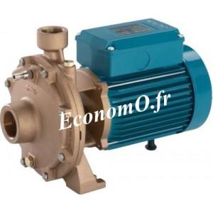 Pompe de Surface Bronze B-NMD 40/180B/A Calpeda 7,5 a 24 m3/h entre 87 et 59 m HMT TRI 400-690 V 7,5 kW - EconomO.fr