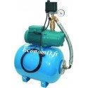 Surpresseur Domestique K 50H + MXAM 204 Reservoir Horizontal 50 L 1 a 4,5 m3/h entre 40 et 15 m HMT MONO 230 V 0,55 kW