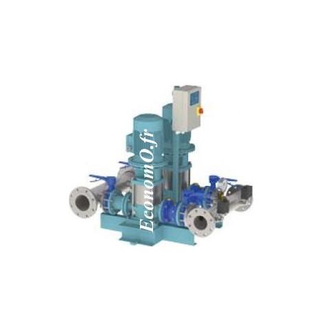Surpresseur Calpeda S20 VF MXV65-3203 2 Pompes 15 à 88 m3/h entre 51 et 25,5 m HMT Tri 400 V 2 x 5,5 kW - EconomO.fr