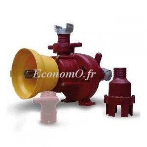 Pompe Prise de Force Cardan Eau Résiduelle Lisier de 10,5 à 60 m3/h entre 17 et 2 m HMT - EconomO.fr