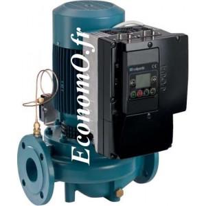 Pompe en Ligne Calpeda NR4 EI 50-160B de 5,4 à 24 m3/h entre 7,4 et 2,5 m HMT Tri 400 V 0,55 kW - EconomO.fr