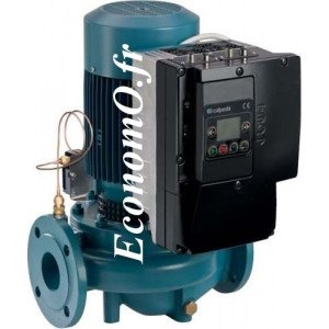 Pompe en Ligne Calpeda NR4 EI 65-250B de 10,8 à 48 m3/h entre 20,1 et 10,8 m HMT Tri 400 V 3 kW - EconomO.fr
